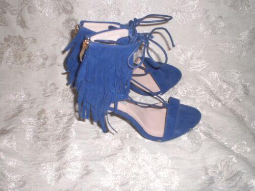 Cape Robbin ELMA  Fringe Ankle fringe sandals SIZE