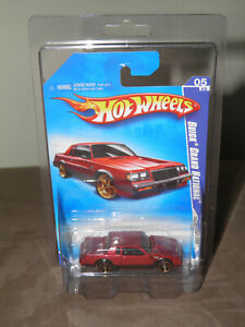 HOT WHEELS 2009 FASTER THAN EVER SERIES BUICK GRAND NATIONAL RED