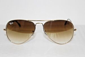 Ray-Ban Aviator Large Metal Sunglasses RB3025 001 51 58-14 2N Gold ... 28e8dc34a7