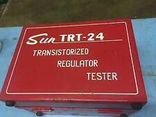 SUN ELECTRIC TRT-24 VINTAGE SUN ELECTRIC TRANSISTORIZED REGULATOR TESTER