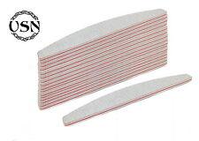 50 x SET Profi 100/180 Nagelfeilen Trapez grau 50er Set Nails Nail-file Feilen