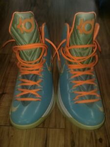 5bd5a2c16dc Nike KD V 5 Easter - Turquoise Blue Citrus - Sz 10 - Kevin Durant ...