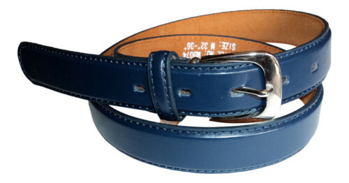 "Girl Trouser Belt Child/'s Leather Lined Belt Boys 5 Colours .1/"" Wide Boy"