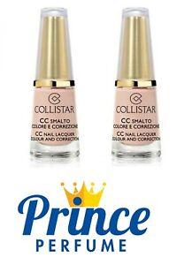 COLLISTAR CC SMALTO COLORE E CORREZIONE n° 653 (CIPRIA) - 6 ml   2 PEZZI