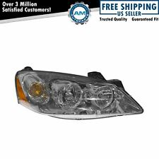 Headlight Headlamp Passenger Side Right For 09 10 G6 With Clear Turn Signal Fits Pontiac G6