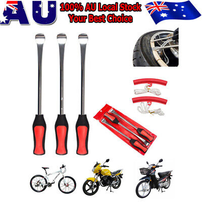 3pcs Heavy Duty Steel Removal Tire Levers Change Motorcycle Quad Dirt Bike Pit