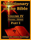 A Dictionary of the Bible: Volume IV: (Part I: Pleroma -- Shimon) by University Press of the Pacific (Paperback / softback, 2004)