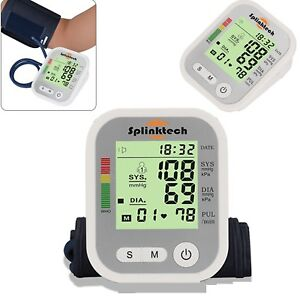 Digital-Blood-Pressure-Monitor-Meter-Automatic-Upper-Arm-Intellisense-180-Memory
