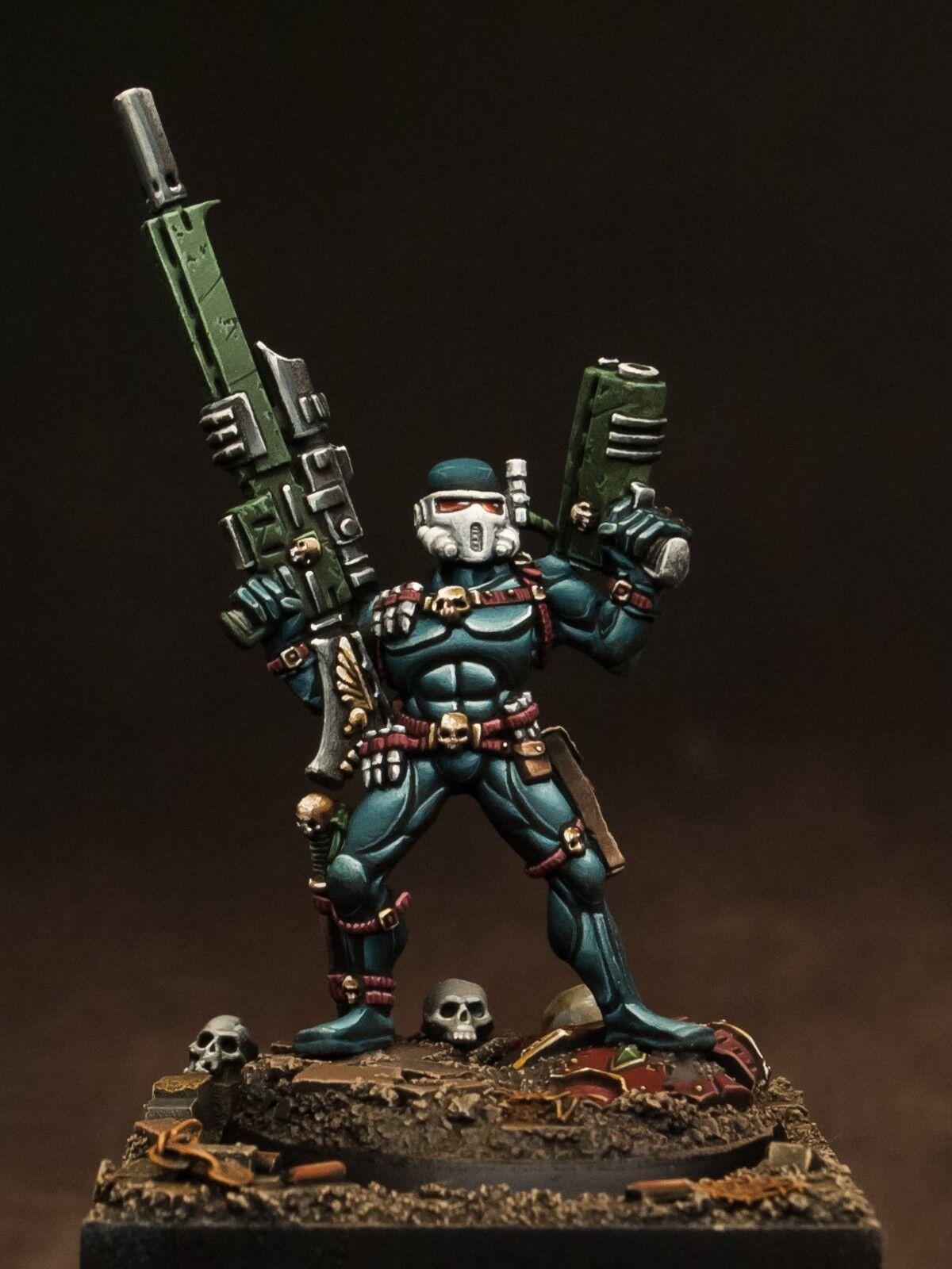 Vindiautoe Assassin mettutti  resin painted Ordo Assassinorum Warhammer 40k GW 28mm  consegna gratuita