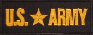 U-S-ARMY-MILITARY-VETERAN-EMBROIDERED-MOTORCYCLE-BIKER-MC-CLUB-VEST-PATCH-L-9