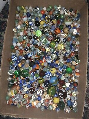 More BAGS OF 50 Shooter Vintage to Recent  HUGE Marble Lot