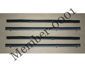 Weatherstrip Long Window Glass Door Belt Rubber for Nissan Datsun 720 Pickup UTE