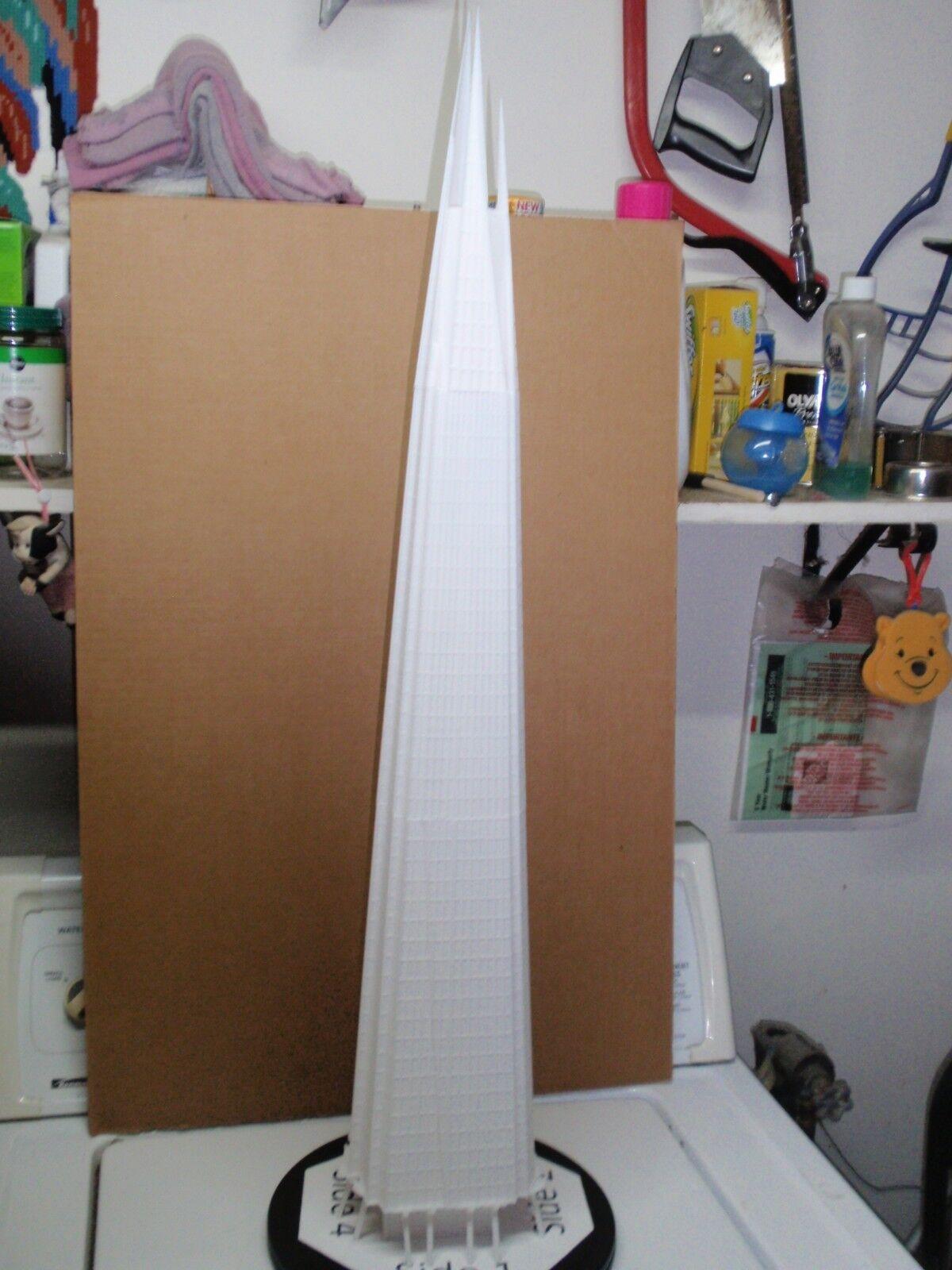 MASSIVE Z SCALE BUILDING BASED OFF THE SHARD IN LONDON SKY SCRAPER \ OFFICE