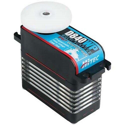 Hitec 36840 D840WP D-Programable Mega Escala Impermeable Servo Series