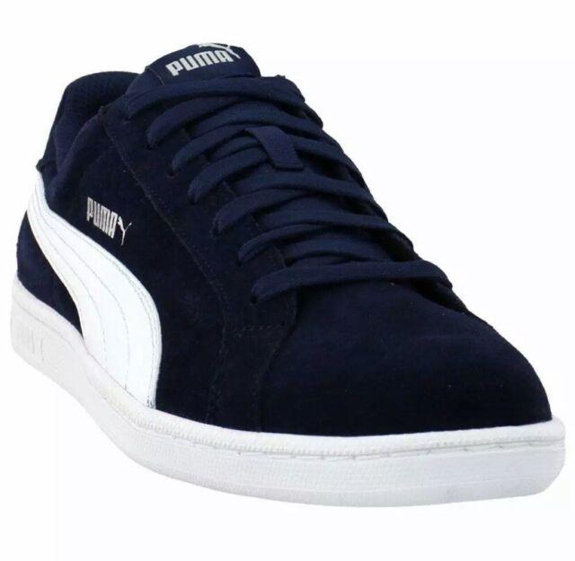 Men's PUMA Suede Smash Shoes Navy Blue