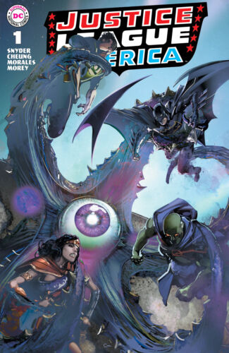 Justice League America 1 Clayton Crain Brave And The Bold 28 Homage Variant