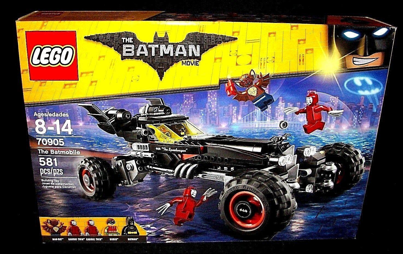 LEGO The Batman Movie BATMOBILE 70905 Robin Man-Bat Minifigs New & Sealed Kabuki