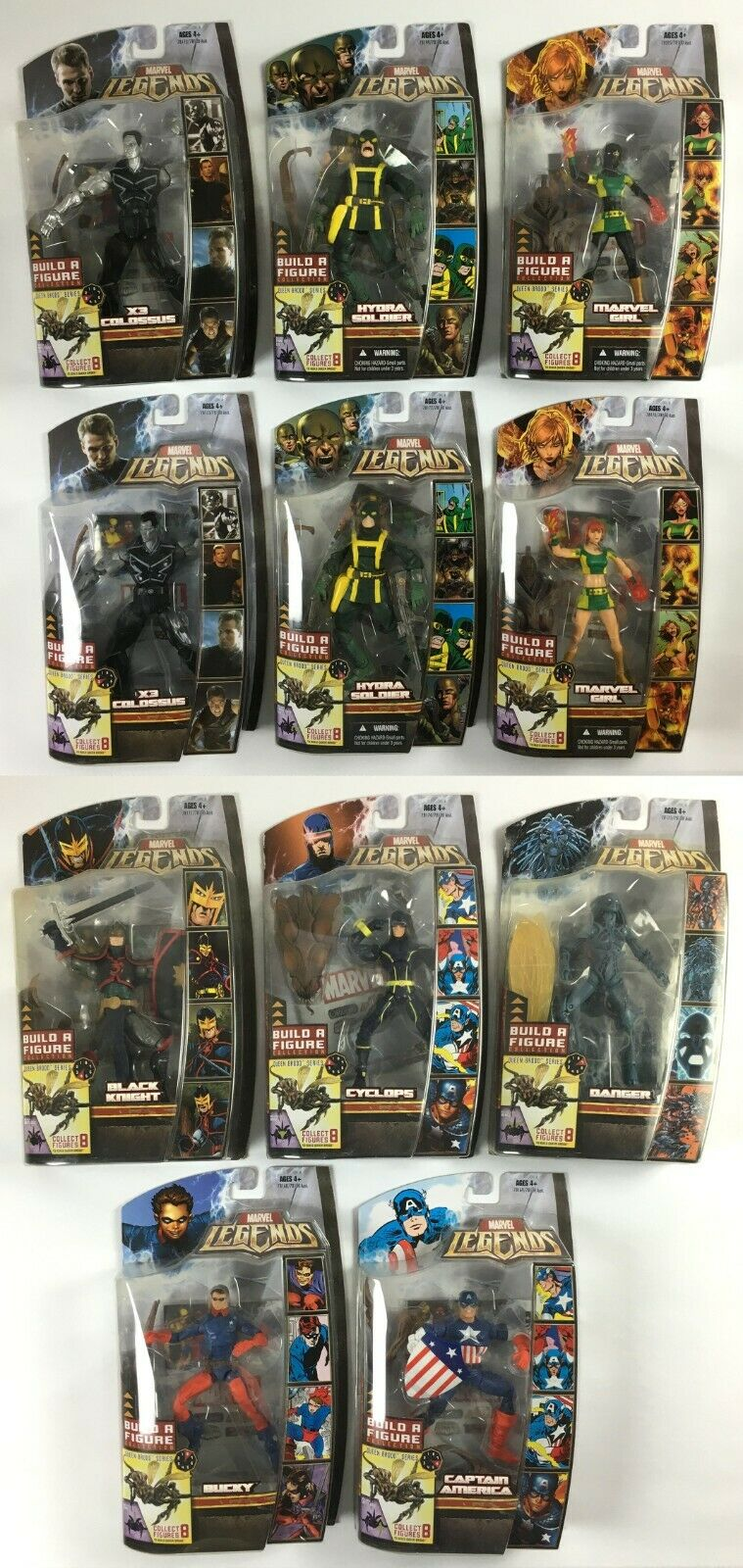 Marvel Legends Series  BROOD regina BAF completare  X11 cifras