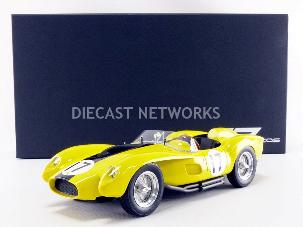 FERRARI 250 TESTAROSSA 24h LE MANS 1958 by GP Replicas 1 12 Scale LE of 250