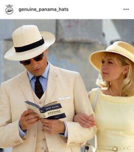 ebd1d38e NEW MONTECRISTI OPTIMO Panama Hat Extrafino SUPERB QUALITY Mens ...
