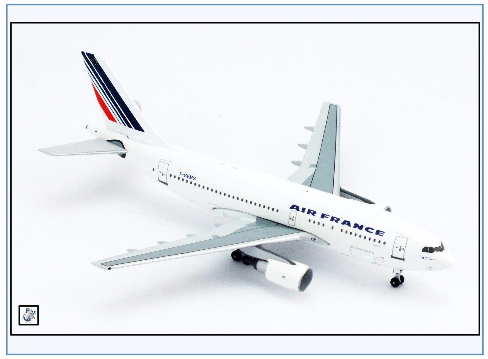 Ac002 airbus a310-200 air france, F-gemg, AeroClassics 1 400, nuevo 10 17 &