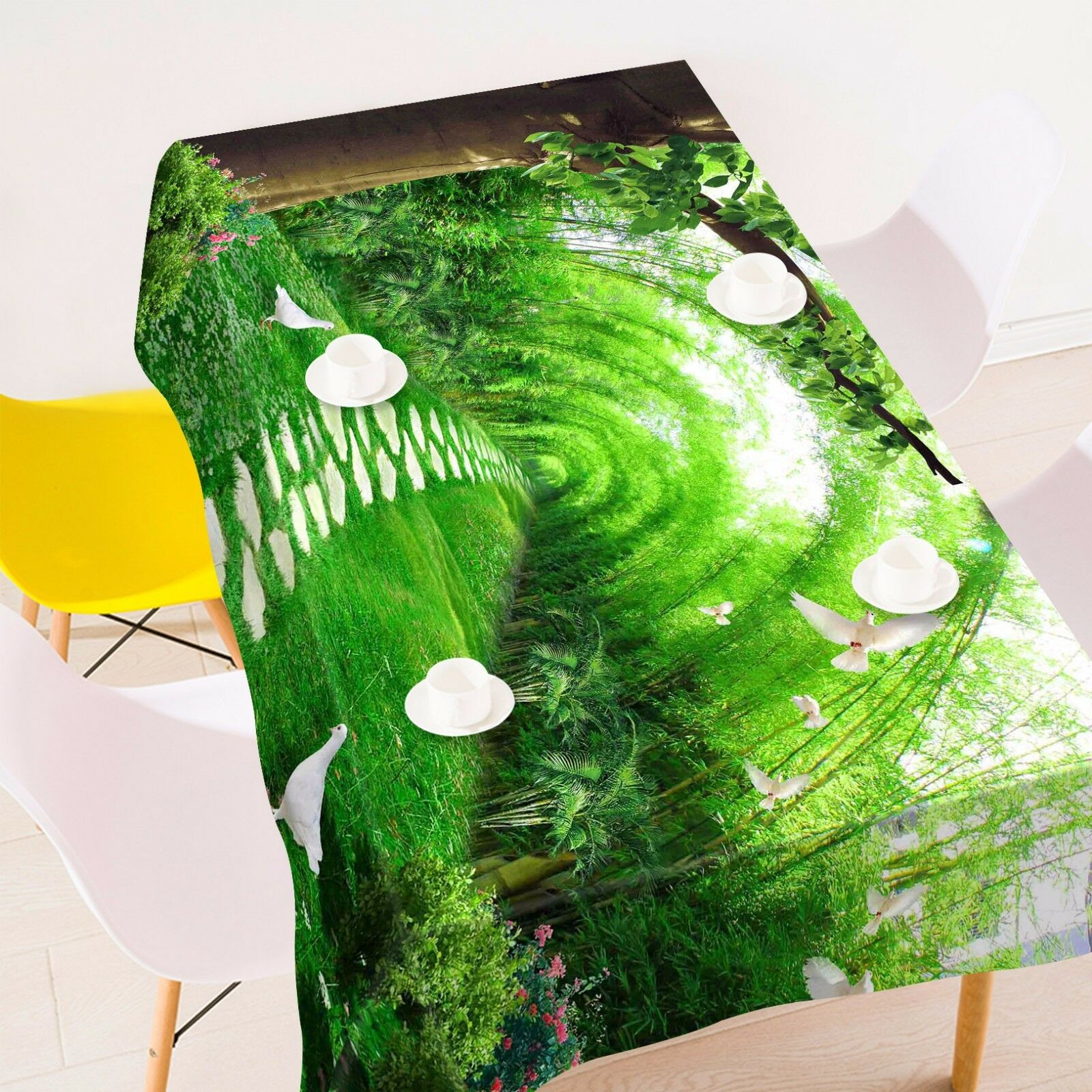 3D Lawn 477 Tablecloth Table Cover Cloth Birthday Party Event AJ WALLPAPER AU