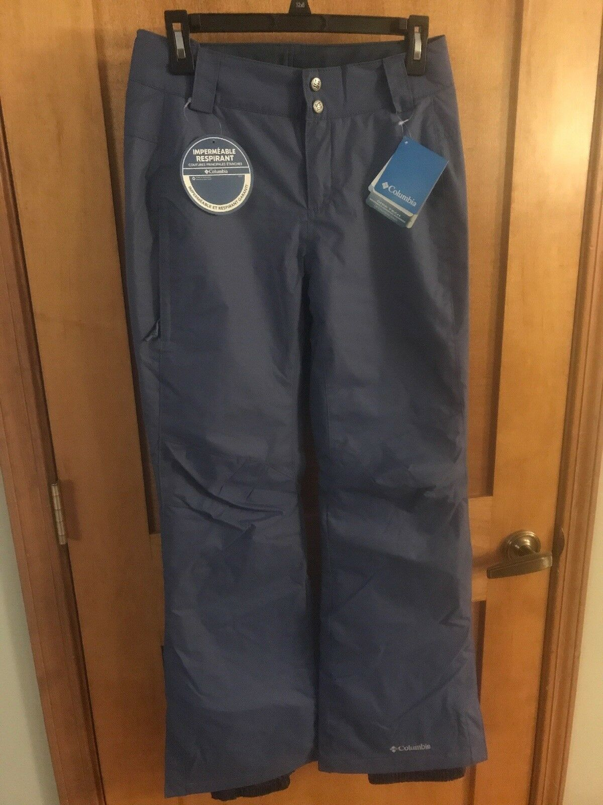 NWT Columbia Arctic Trip PANT Pants Ski Snowboard Women -  bluee - X Small -  95  100% authentic