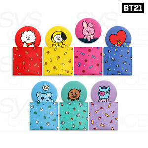 BTS BT21 Official Authentic Goods Pouch Mirror Ver2 + Tracking Number