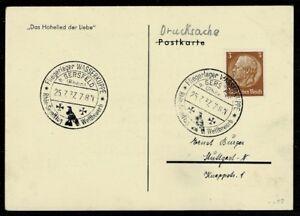 Deutsches Reich magnifique carte postale PK avec SST Aviateur stock d'eau asymétrique-afficher le titre d`origine onffg886-07145759-293080979