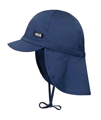 DÖLL® Jungen Sonnenhut Hut Nackenschutz Mütze Haie 49-57 S 2020 NEU!