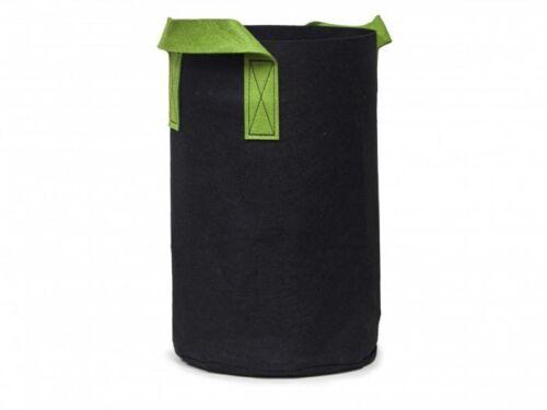 1-30 Gallon Tall Fabric Pots Grow Bags Vegetable Garden Fruit Tree 10 Pack