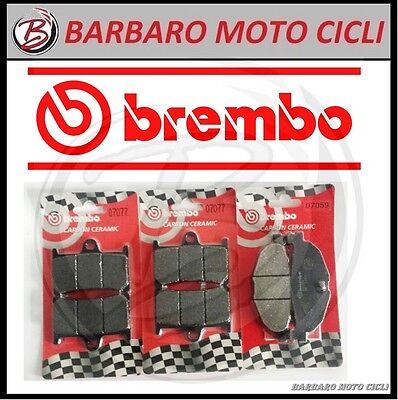 ANT CC+TT POST BRPADS-2322 KIT PASTIGLIE FRENO BREMBO SYM MAXSYM 2011-400CC