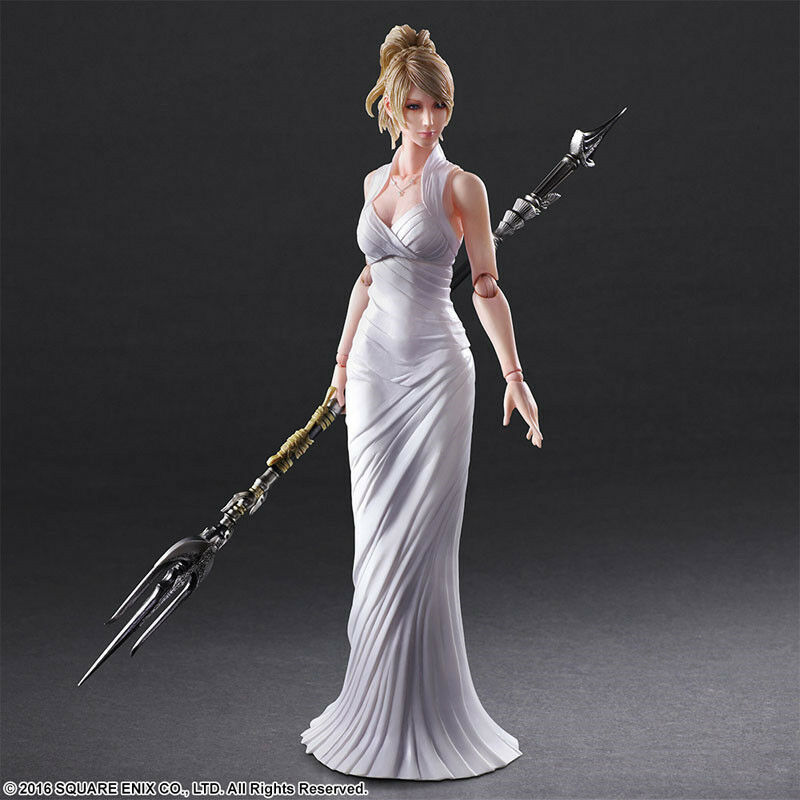 Final Fantasy Lunafreya Nox Fleuret Action Figure Model Collection Decoration