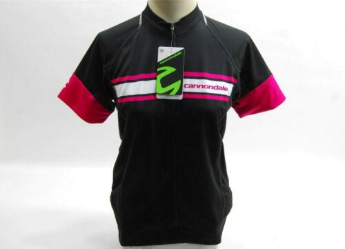 2015 Cannondale Women's Endurance Jersey SMS 5F134M Medium Black NEW