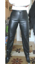 Horizon Hipster Bootleg Leather trousers Black UK 12 EU4 US8 RRP £259.00
