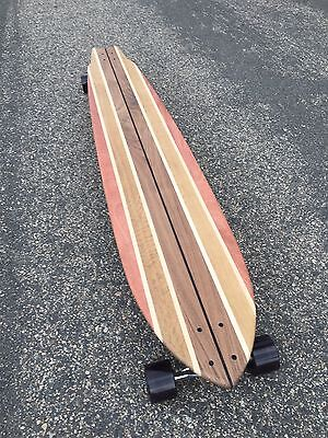 Longboard made of Solid Wood - Long Beach  - 60x12 Classic