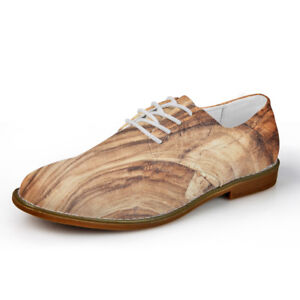 Brogue-Oxford-Casual-Formal-Dress-Shoes-Mens-Lace-Up-Shoes-Soft-Loafers-Vintage