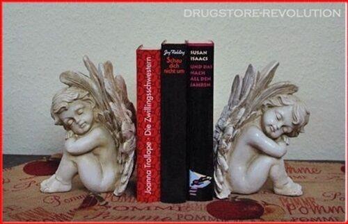 Zauberhaftes Engelpaar Deko Romantik Engel Landhaus Shabby NEU