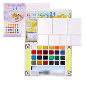 Sakura-Water-Colour-Painting-Set-Artist-Watercolour-Paint-Set-24-Colors