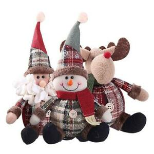 Christmas-Santa-Claus-Snowman-Festival-Party-Ornament-Xmas-Table-Decor-DIY-Doll