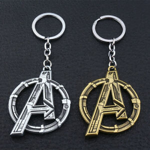 Marvel The Avengers Design Logo Alloy Key Chains Keychain Keyfob Keyring New