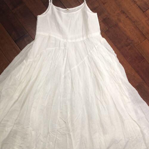 multi nieuwe witte zomer Sm jurk 100katoen Dames gelaagde Maxi Runway stijl 8w0OXPNkn