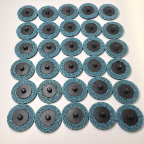 "30 Pack Blue Quick Change Prep Pads 2/"" Surface Conditioning Discs Fine"