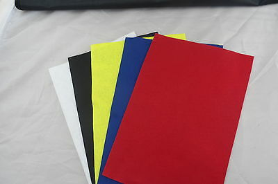 Felt Primary Colours With Adhesive 1 x 5 colours, 30cm x 20cm  FREE POSTAGE