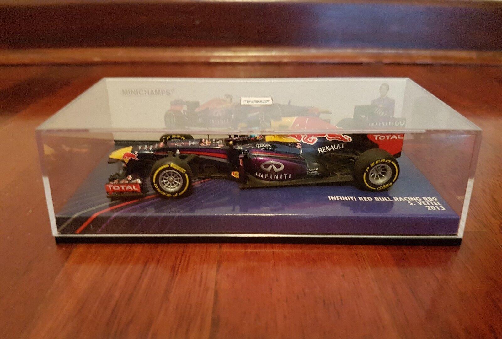 rouge Bull Rb9 S.Vettel 1st  Edition Minichamps 1 43  Stade Cadeaux