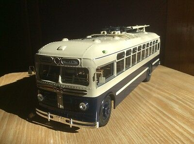 MTB-82D  1947-1961   Soviet Trolleybus 1:43 USSR car model retro Rare