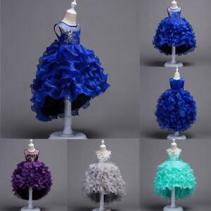 Flower-Girl-Dress-Princess-Party-Wedding-Bridesmaid-Pafgeant-Formal-Kids-Dresses