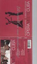 CD--KLAZZ-BROTHERS & CUBA PERCUSSION UND DIVERSE--OPERA MEETS CUBA