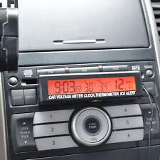 Newest Auto Car Voltage Digital LCD Temperature Thermometer Alarm Clock