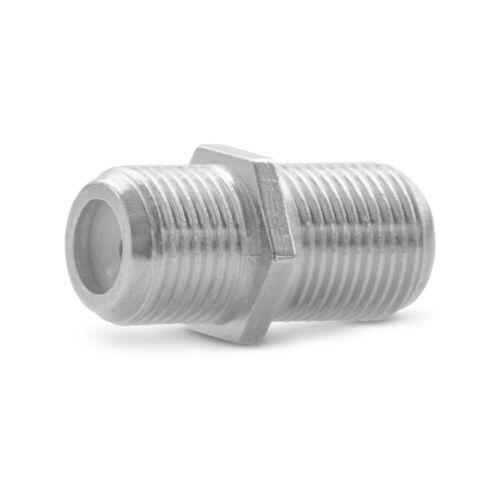 F-Verbinder Sat Buchse 20x Antennen Koaxialkabel Kabel Adapter Kupplung Koaxial